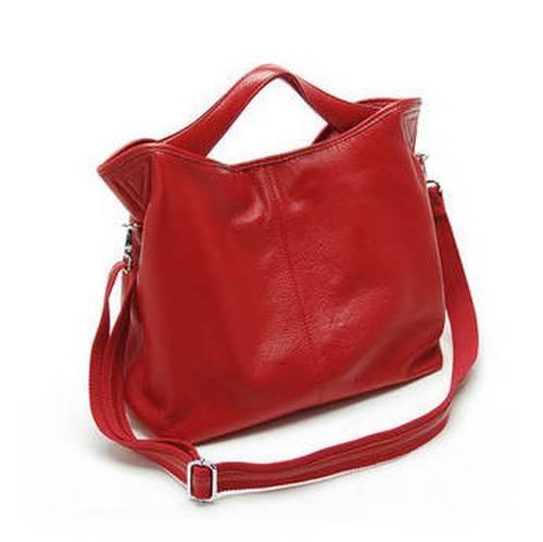 Hobo Handbag Leather