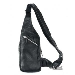 black Backpacks one strap