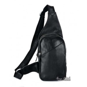 leather backpack single strap