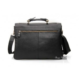 mens leather 16 laptop briefcase
