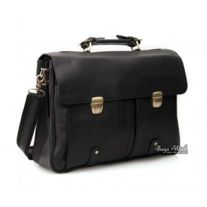 leather 16 laptop briefcase