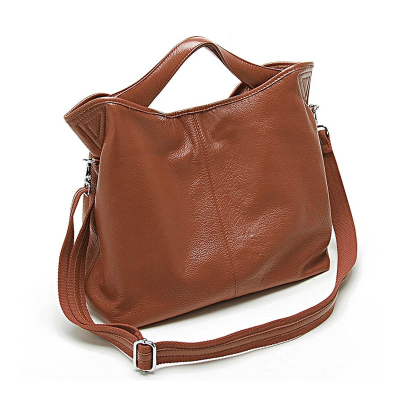 Hobo handbag, leather cross body bag - BagsWish