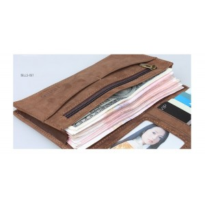 mens tri fold leather wallet