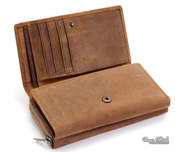 Brown Leather Man Wallet