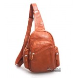 Backpack shoulder bag black, brown backpack one shoulder