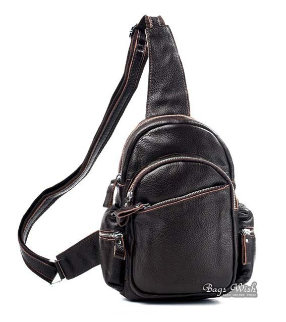 3ebc3258eaad ... brown backpack one strap  coffee backpack one shoulder