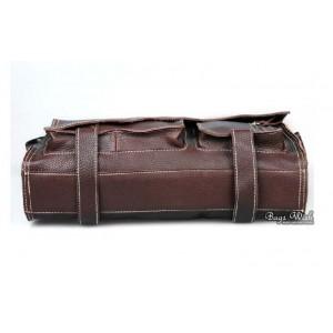 """brown 13"""" best laptop briefcase"""