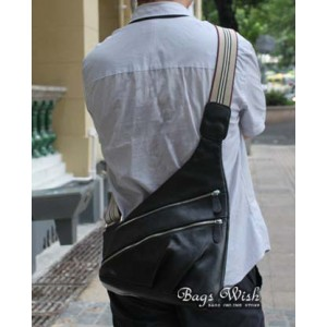 mens leather purse bag