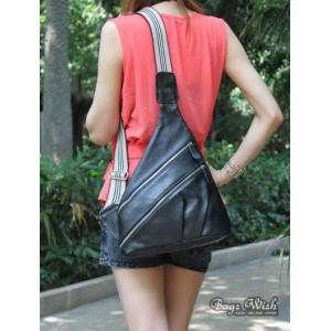 womens black leather purse bag