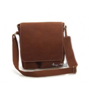 brown mens leather satchel