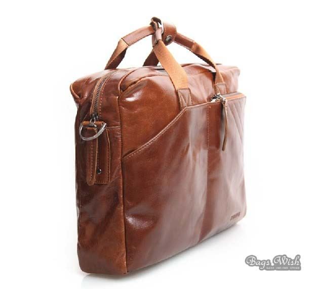 Mens Leather Briefcase Bag