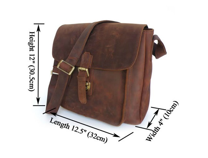 Mens Leather Over The Shoulder Bags – Shoulder Travel Bag