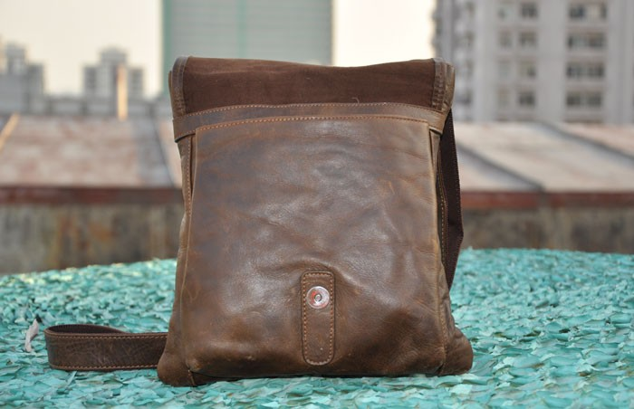 2a5836525b8 ... brown mens vintage leather bag; leather Mens small messenger bag ...