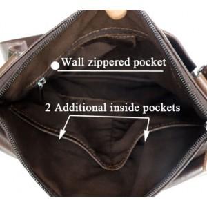 leather mens vintage leather bag