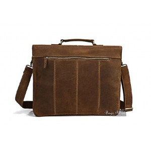 coffee Men leather bag