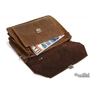 vintage Men leather bag