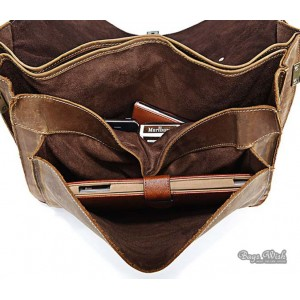 retro Men leather bag