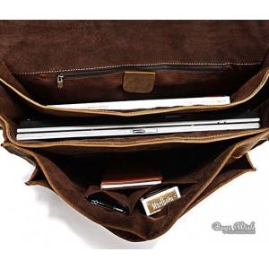 retro coffee mens briefcase bag