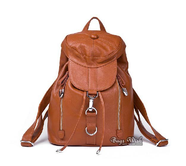Ladies backpack, leather backpack purse for women - BagsWish