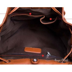 leather backpack purse