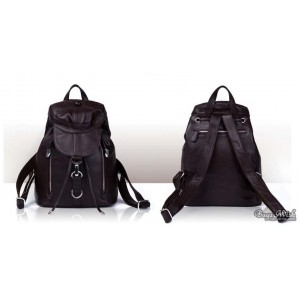 brown backpack purse for women