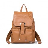 Fashion backpack, genuine leather backpack