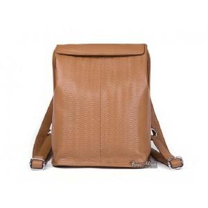 Courier messenger bag, leather backpack