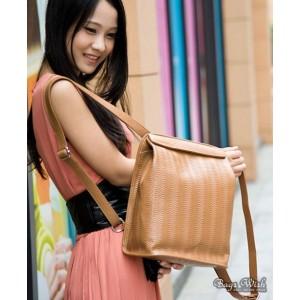 apricot Courier messenger bag