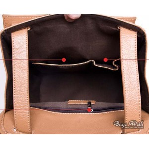 leather Courier messenger bag