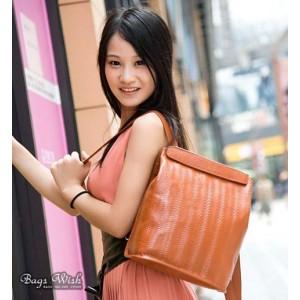 orange Courier messenger bag