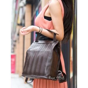 brown Courier messenger bag