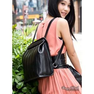 black Courier messenger bag