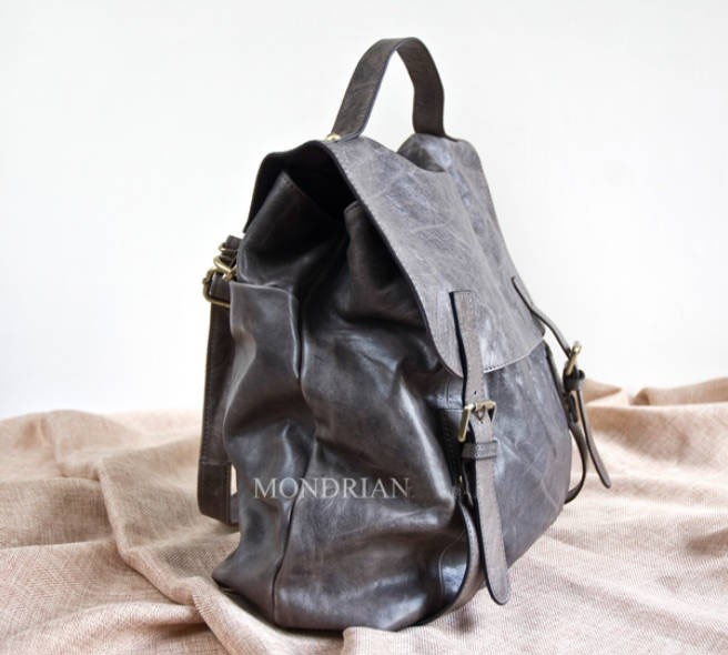 1776bcbcd7b0 ... Best leather backpack coffee  coffee leather backpack purse ...