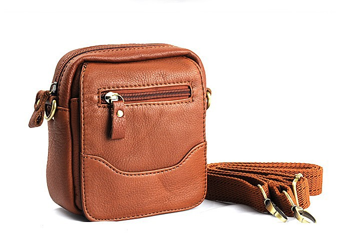 7ee3feab17 ... leather small mens messenger bag  Waist hip ...