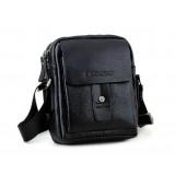 Small messenger bags for men, black perfect messenger bag