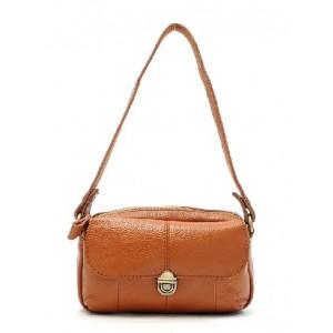 Leather bag, leather cross body messenger bag