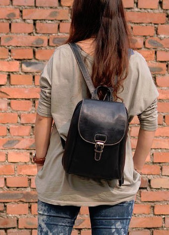 58acb1f516c Backpack purse leather, backpack for college - BagsWish