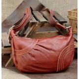 Leather messenger bag, leather messenger purse