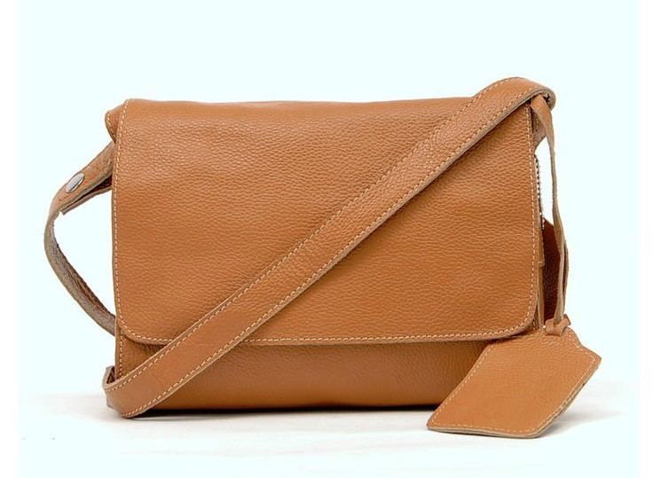 Leather Messenger Bag For Women Purse