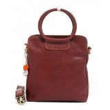 Leather messenger bag brown, leather satchel bag