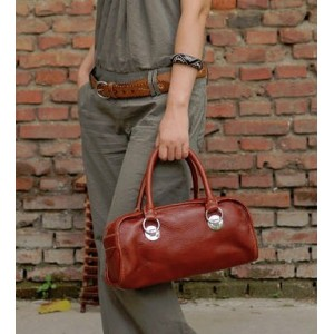 womens stylish leather handbag