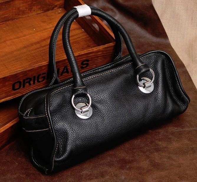 Soft leather bag, stylish leather handbag - BagsWish