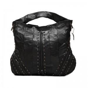 Messenger bag leather women, messenger shoulder bag for women