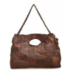 coffee cheap leather handbag