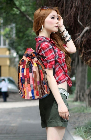Cute Leather Backpack Ladies Leather Bag Bagswish