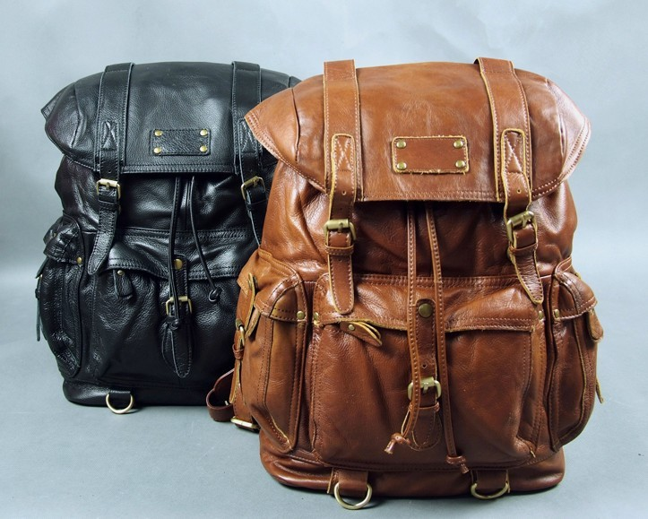 df4659792c0c ... bag for girls  girls leather travel backpack  vintage leather travel  backpack