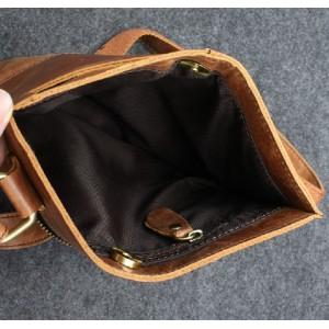 vintage Leather side bag