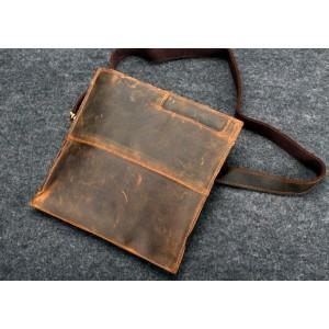 vintage leather shoulder purse
