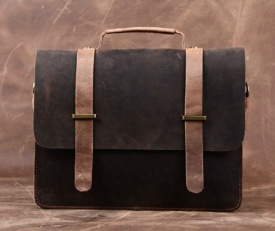 Leather Brief Bag Leather Briefcase For Men Bagswish