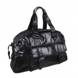 Mens leather messenger bag, mens leather shoulder bag